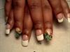 Coogi Custom Nails w/ French Tip
