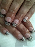 Silver Pink Black