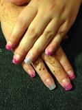 Pink Sparkle & Mint