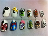 Hand Painted Disney Nail Set
