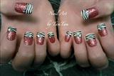 Glitter Me Zebra