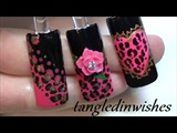 Betsey Johnson Inspired Leopard Nail Art
