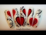 Valentine's Day Hearts & Scrolls