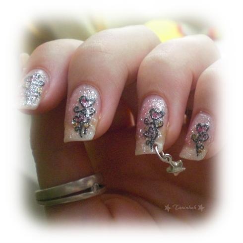 nail art gallery   romantic style