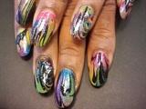rainbow marble