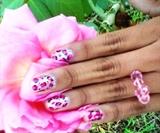 Beutiful Pink Leopard Print