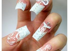 "nail art: The ""HAUTE COUTURE"" Corset"