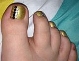 Rhinestones & Gold