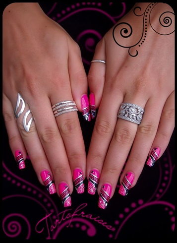 Nail Art on my nails