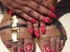 Hands/Feet Red