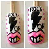 80's rocker nail!