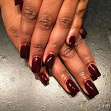 Simple fall nails 🍁