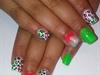 Neon leaopard