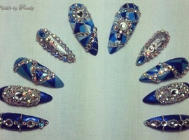 """Bejeweled glam"""