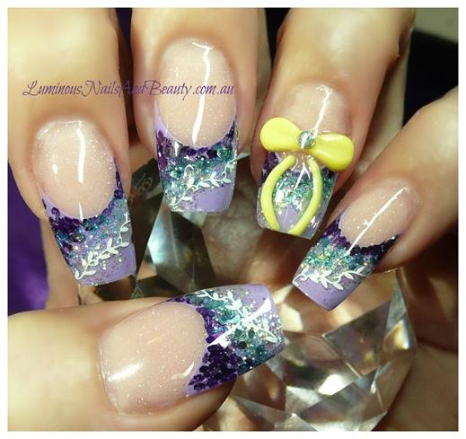 Purple, Teal & Yellow...
