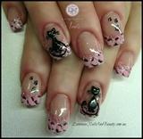 Kitty Kat & Pink Leopard Print!