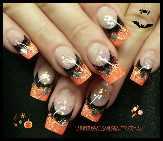 Halloween nails nail art gallery halloween nails prinsesfo Image collections