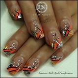 Peach, Mandarin & Silver...