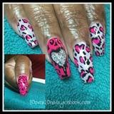 Hot Pink Animal Print