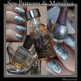 Spy Princess polish with metalics