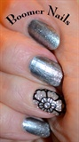 Metallics and Nail Sticker