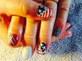 Fourth Of July Summer Nails