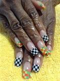 Checkerboard Mani