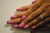 Pink vs Black