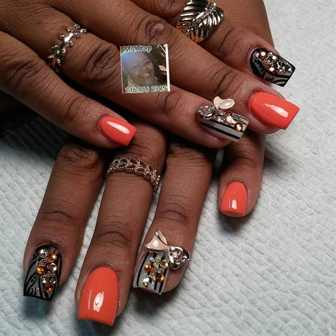 Ms. Trap - @justpolishedsalon