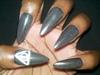 Bellatrix Lestrange (Harry Potter) Nails