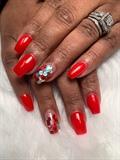 Acrylic Nails Gel Polish & Confetti