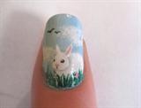 Spring Scene - Bunny
