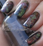 Galaxy Splatter Nails