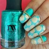 Roses Stamping Nails