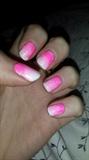 gradient neon pink