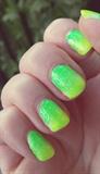Neon Gradient Green