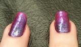 Faded Glitter Purple