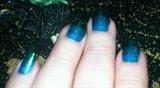 Blue Sparkle Fade