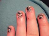 Glitter Zebra