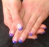 Purple/Blue fade