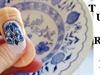 stamping nail art/slovakia ceramic insp.
