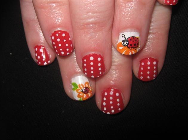 Ladybird Nail Art Gallery