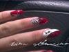 Harley Quinn Nails (in magazine demo)