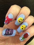 hand-painted emojis