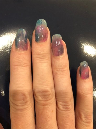 sponge nails