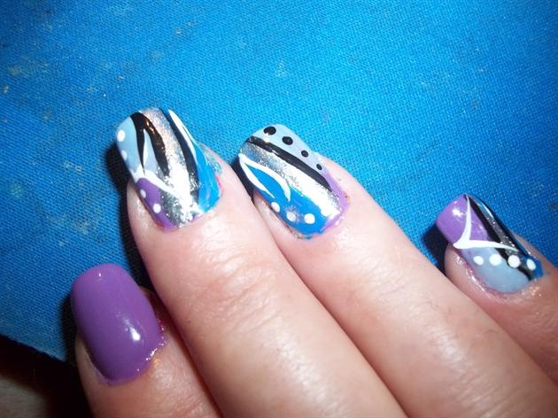something blue&purple