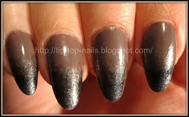 Gradated manicure