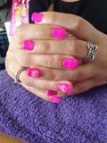 Pink Hard Gel
