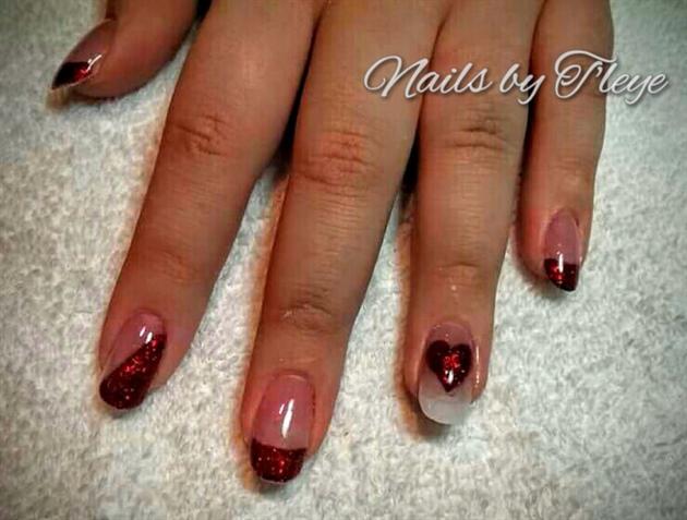 Valentines nails