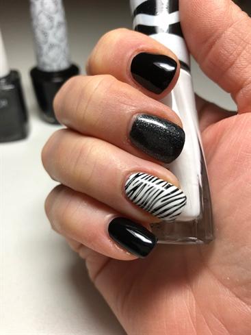 Zebra Mani